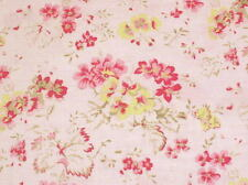 SALE! Cottage Shabby Chic Lecien Durham Quilt Anew 35024-20 Pink Fabric BTY