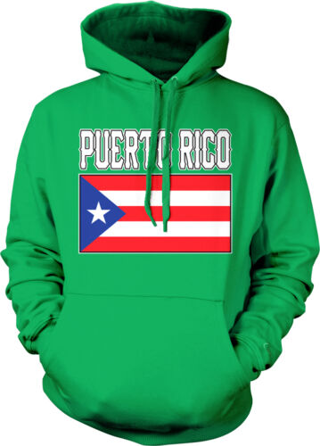 Puerto Rico Flag Colors Font Rican Soccer Heritage Born From Hoodie Sweatshirt