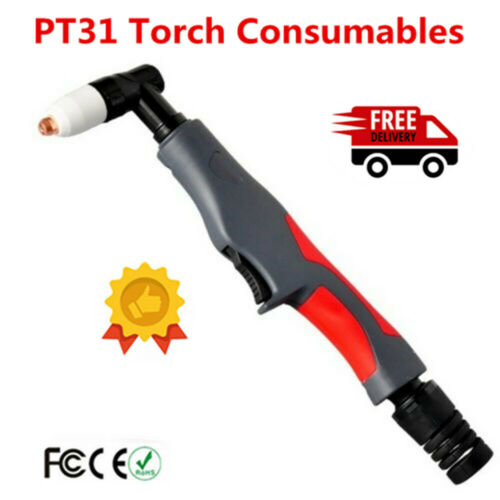 PT31 Torch Consumables Extended For  Electrode and Tip 40A 50A Air Plasma Cutter