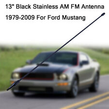 """31/"""" Black Spring Stainless AM//FM Antenna Mast Fits 1992-2008 Ford F150"""