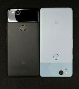 Factory-Unlocked-Google-Pixel-2-64GB-Black-Blue-Shadow