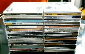 Lot-de-30-divers-artistes-de-musique-pop-rock-alternatif-r-amp-b-class-AssortimentCD