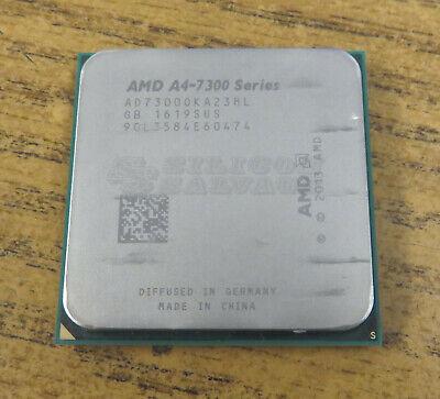 AD730B0KA23HL AMD A4 SERIES A4-7300 3.8GHZ SOCKET FM2 DUAL CORE PROCESSOR