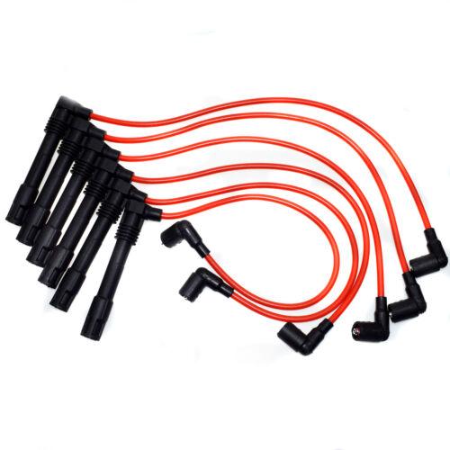 New Ignition Spark Plug Wire Set For Audi A4 A6 Quattro VW Passat 2.8L 250079696