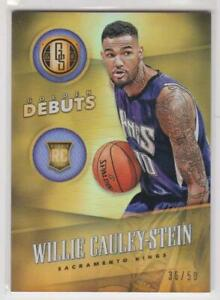 2015-16-Willie-Cauley-Stein-Rookie-RC-50-Panini-Gold-Standard-Golden-Debuts