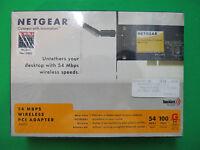 Netgear 54 Mbps Wireless Pci Adapter Sealed