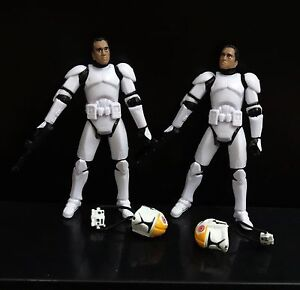 lot-of-2-Star-Wars-Clone-Pilot-TROOPER-Revenge-Of-The-Sith-501st-figure-w-gun