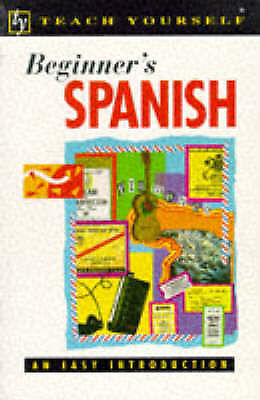 Very Good, Teach Yourself Beginner's Spanish (TYL), Hevia, Angela Gonzalez, Book