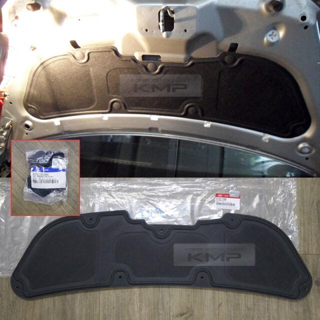 For KIA 2011 - 2016 Picanto OEM Parts Rear Trunk Bonnet HOOD INSULATOR PAD