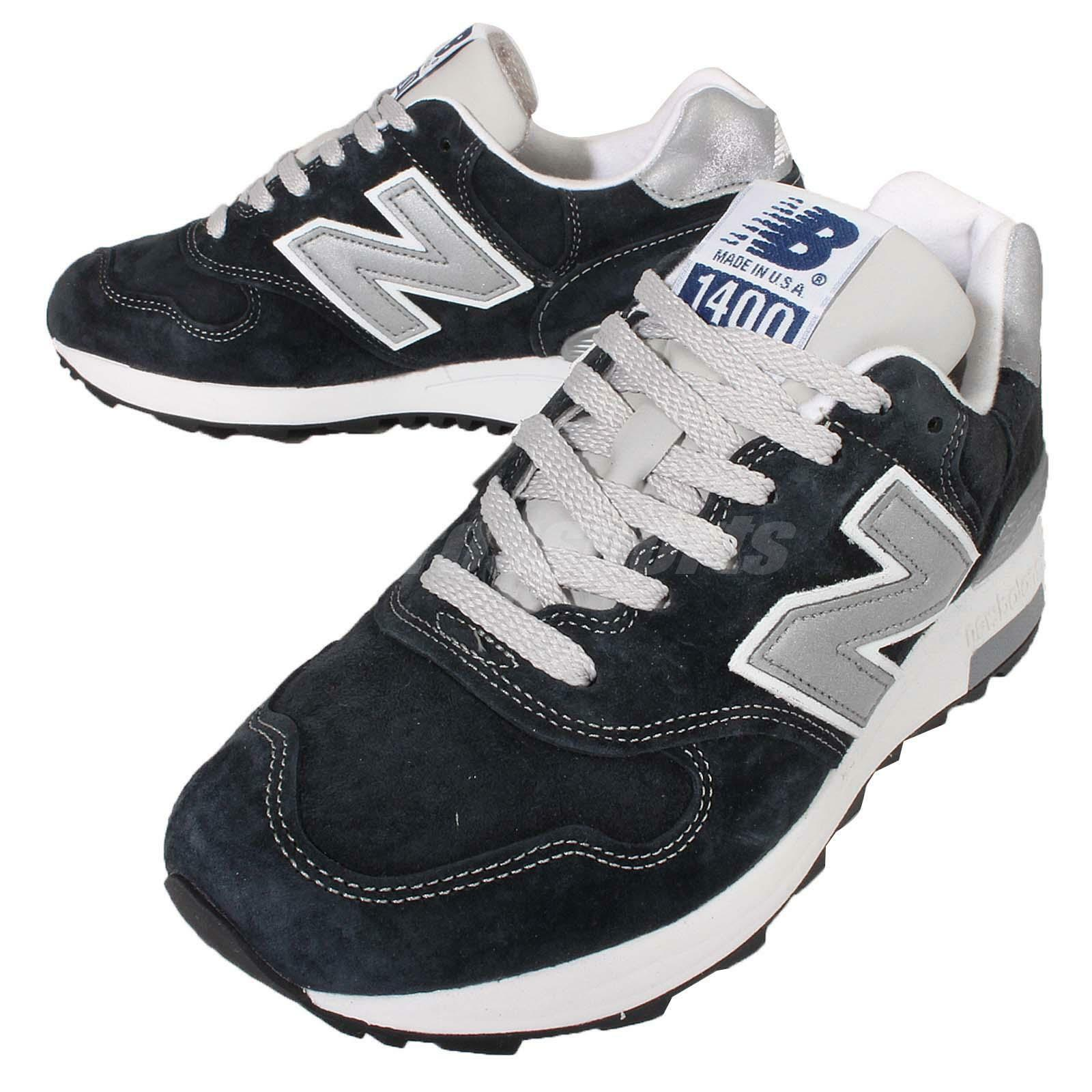 New Plata Balance M20180NV D Navy Plata New Hombre Retro Running Zapatos  Made In USA M20180NVD 80508b