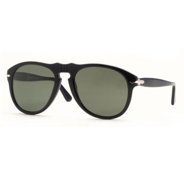 8c9494f27b Original Persol PO 0649 95 31 Black Frame Grey Green Lens Sunglasses ...