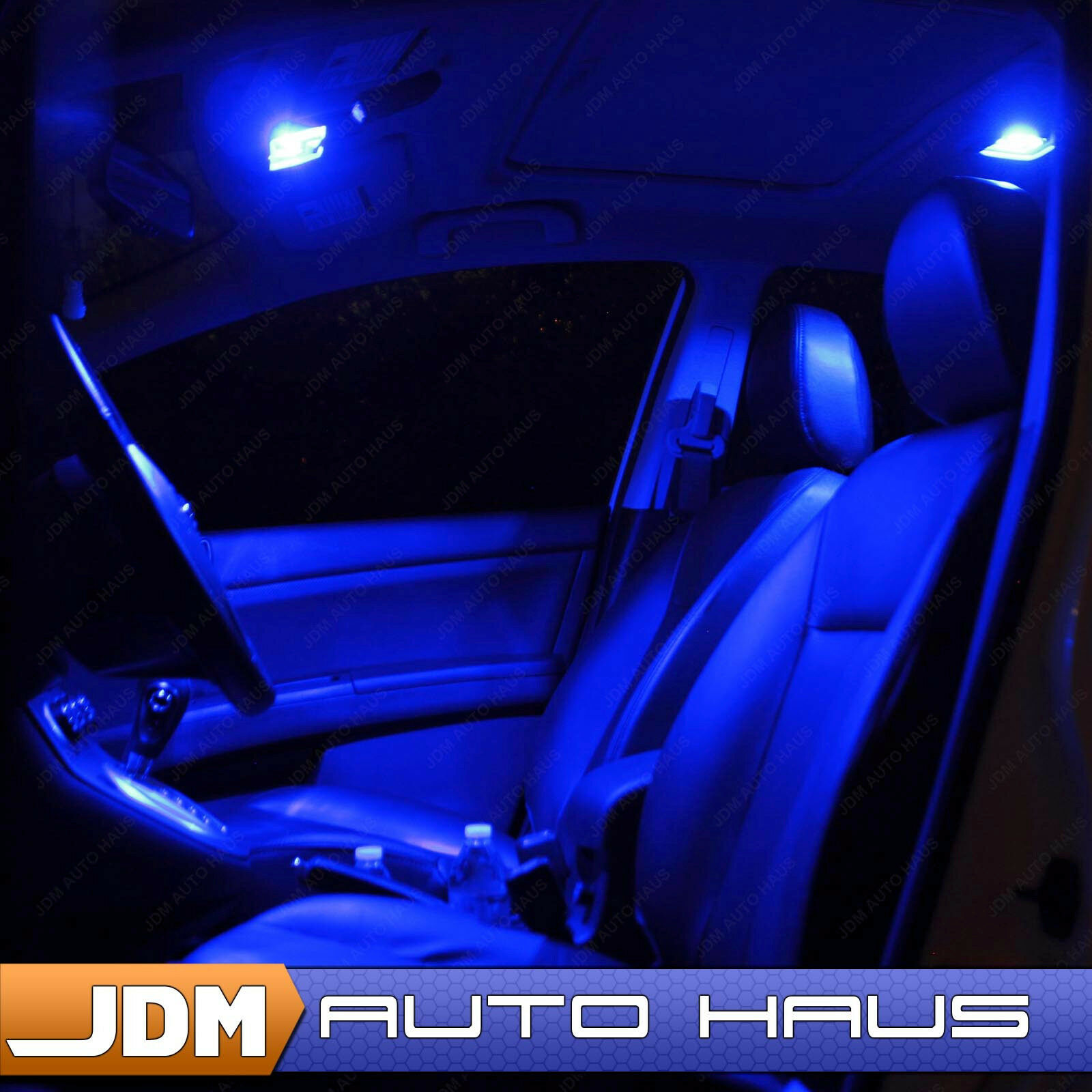 10x Blue Interior Led Lights Replacement Package Kit Fit: 11x Blue Interior LED Lights Package Kit For 2015-2016
