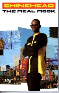 Shinehead-The-Real-Rock-1990-Cassette-Tape-Album-Hiphop-Reggae-Dancehall