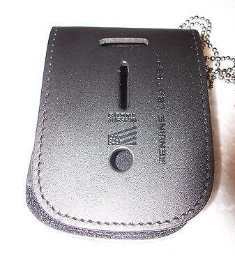Generic Teardrop Police or Fire Badge Belt Clip Badges Not Included