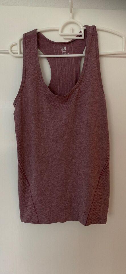 Fitnesstøj, Fitnessbluse - fitness bluse, H&M