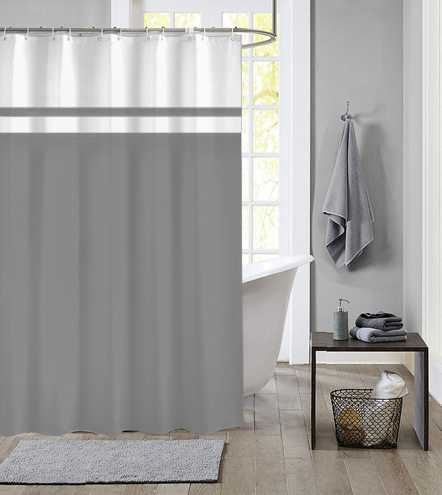 Kiss Rock Band Polyester Fabric Shower