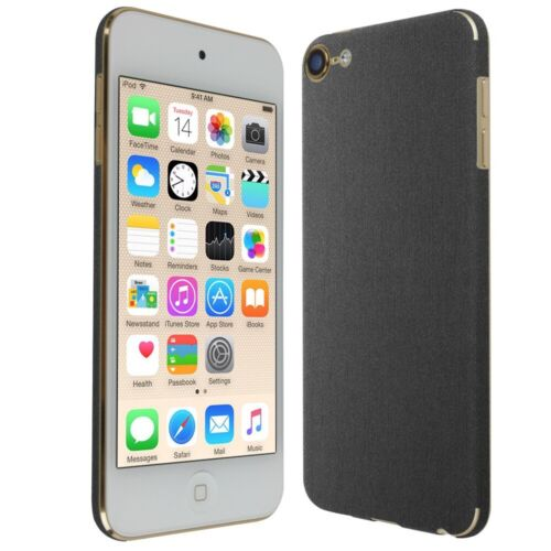 6th Gen Skinomi Brushed Steel Skin+Screen Protector For Apple iPod Touch 6