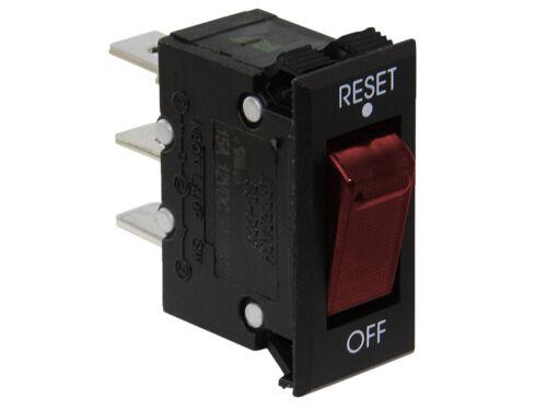 Wippschalter mit Sicherungsautomat 12V max 3 bis 15A Einbauschalter Schalter