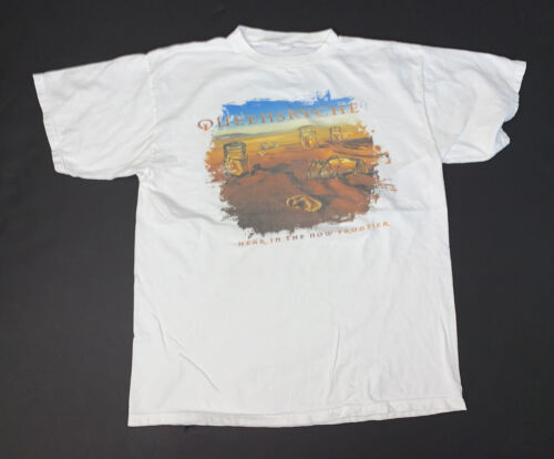 Vintage 90s QUEENSRYCHE Hear In The Now Frontier T