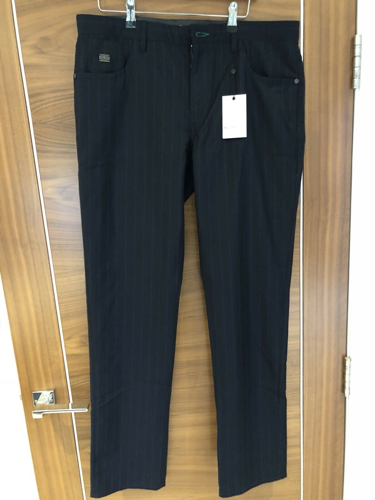 Robert Graham Slim Jim Cork Style, Italian Wool Trousers RRP  BARGAIN PRICE