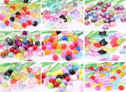 Wholesale Mixed Acrylic Plastic Spacer Beads  Style Optional 9