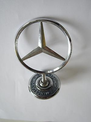 """Rare Vintage Car Emblem Badge - """" Mercedes Benz """""""