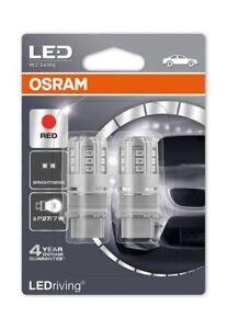Osram-P27-7W-180-12V-3W-LED-indicador-de-iluminacion-de-coche-rojo-3547R-02B-Exterior-Doble