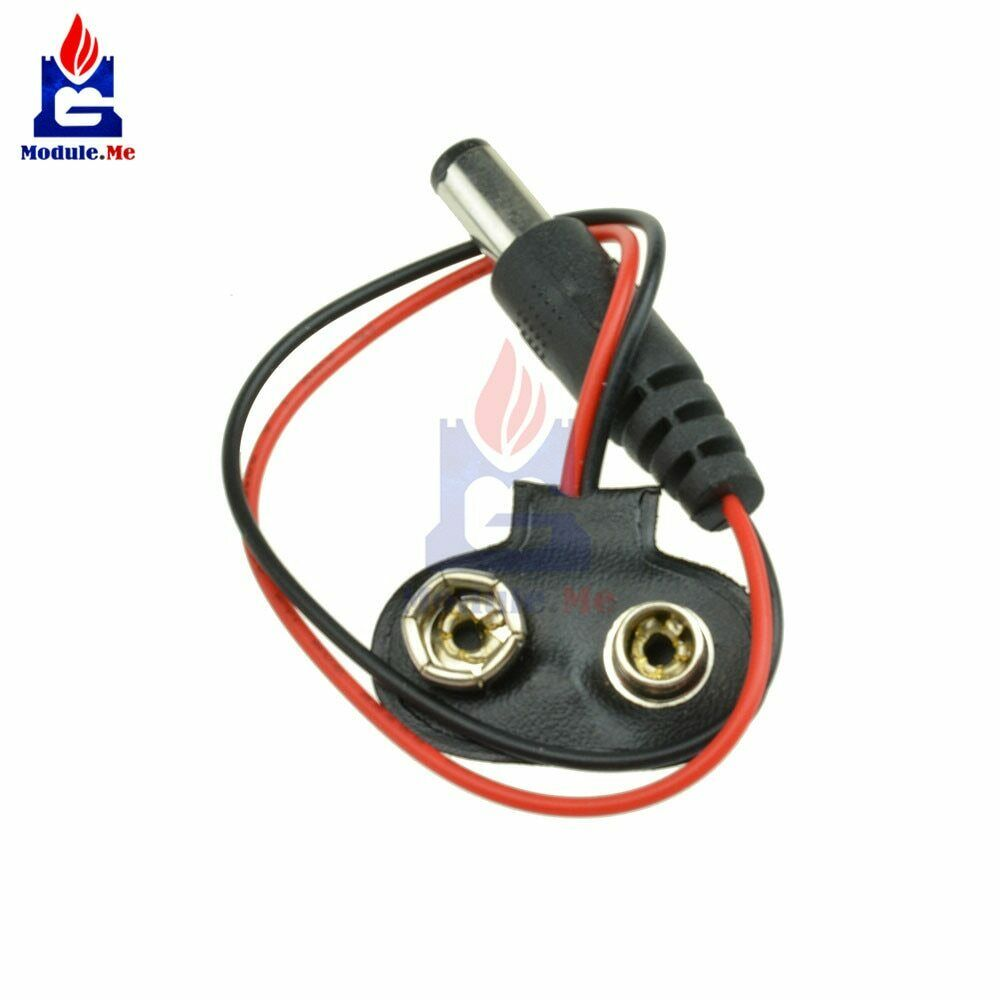 Diymore 5 pcs/lot experimental 9v Snap Battery Cable