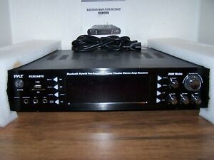 Home Theater Stereo Amp Receiver Pyle P2203ABTU Bluetooth Hybrid Pre-Amplifier