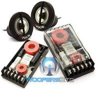 Pkg Focal Tn-43 1 Car Audio Tweeters + Xo-13vr Polyglass 2-way Crossovers