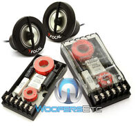 Pkg Focal Tn-43 1 Car Audio Tweeters + Xo-13vr Polyglass 2-way Crossovers