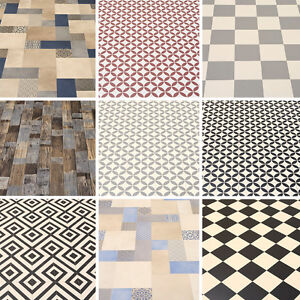 Image Is Loading High Quality Vinyl Flooring Woods Tile Designs New