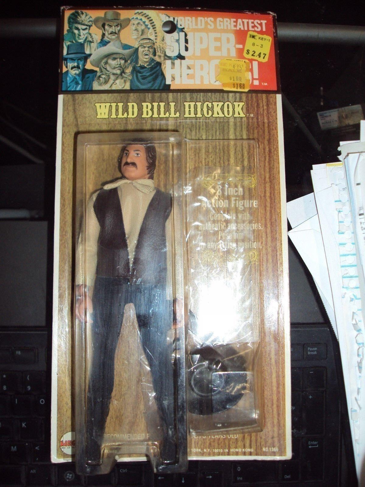 Mego Wild Bill Hickok WGSH kresge 1973