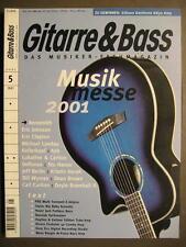 GITARRE & BASS 2001 # 5 - AEROSMITH ERIC JOHNSON MICHAEL LANDAU ERIC CLAPTON