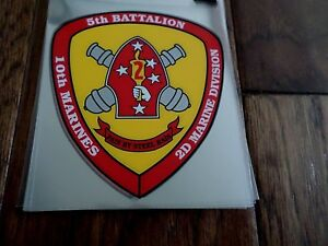 U-S-MILITARY-MARINE-CORPS-5th-BATTALION-10th-MARINES-2d-DIVISION-WINDOW-DECAL