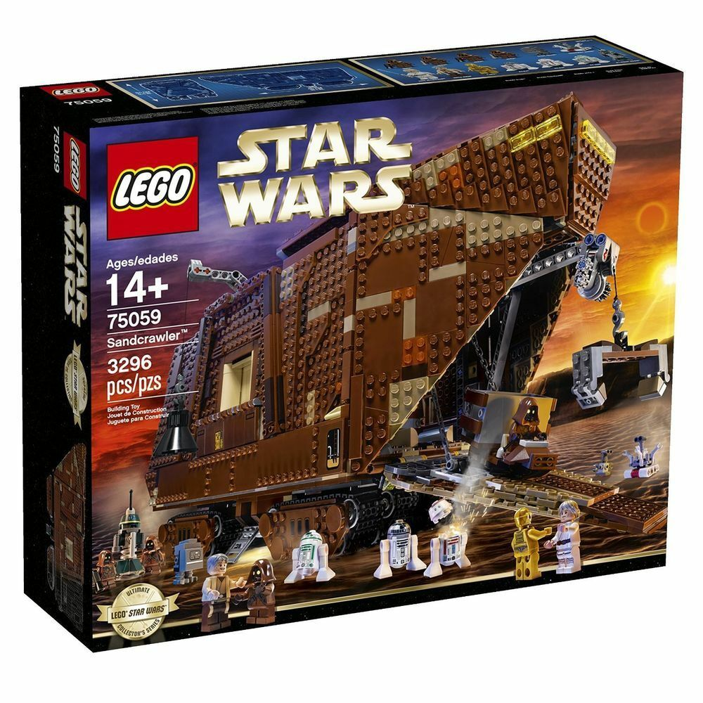 LEGO Star Wars UCS (75059) Sandcrawler (Brand New & Factory Sealed)