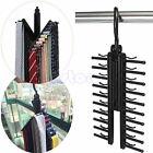Adjustable 360° Rotating 20 Tie Scarf Belt Plastic Hanger Rack Holder Organiser