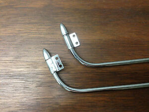 rack-carrier-supports-Bicycle-struts-chrome-Columbia-rear-chrome-w-bullet-ends