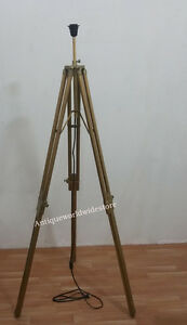 Retro-Classic-Floor-Lamp-With-Antique-Brass-Tripod-Stand-Floor-Lamp-Shade