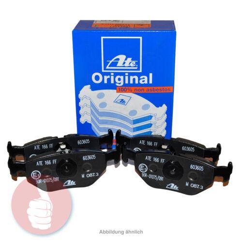 Original ATE Bremsbelagsatz Bremsbeläge 605827 Hinterachse für Honda