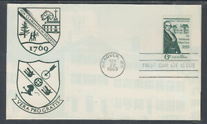 US-Planty-1380-17-FDC-1969-6c-Dartmouth-College-Case-FIRST-CACHET-by-Imperial