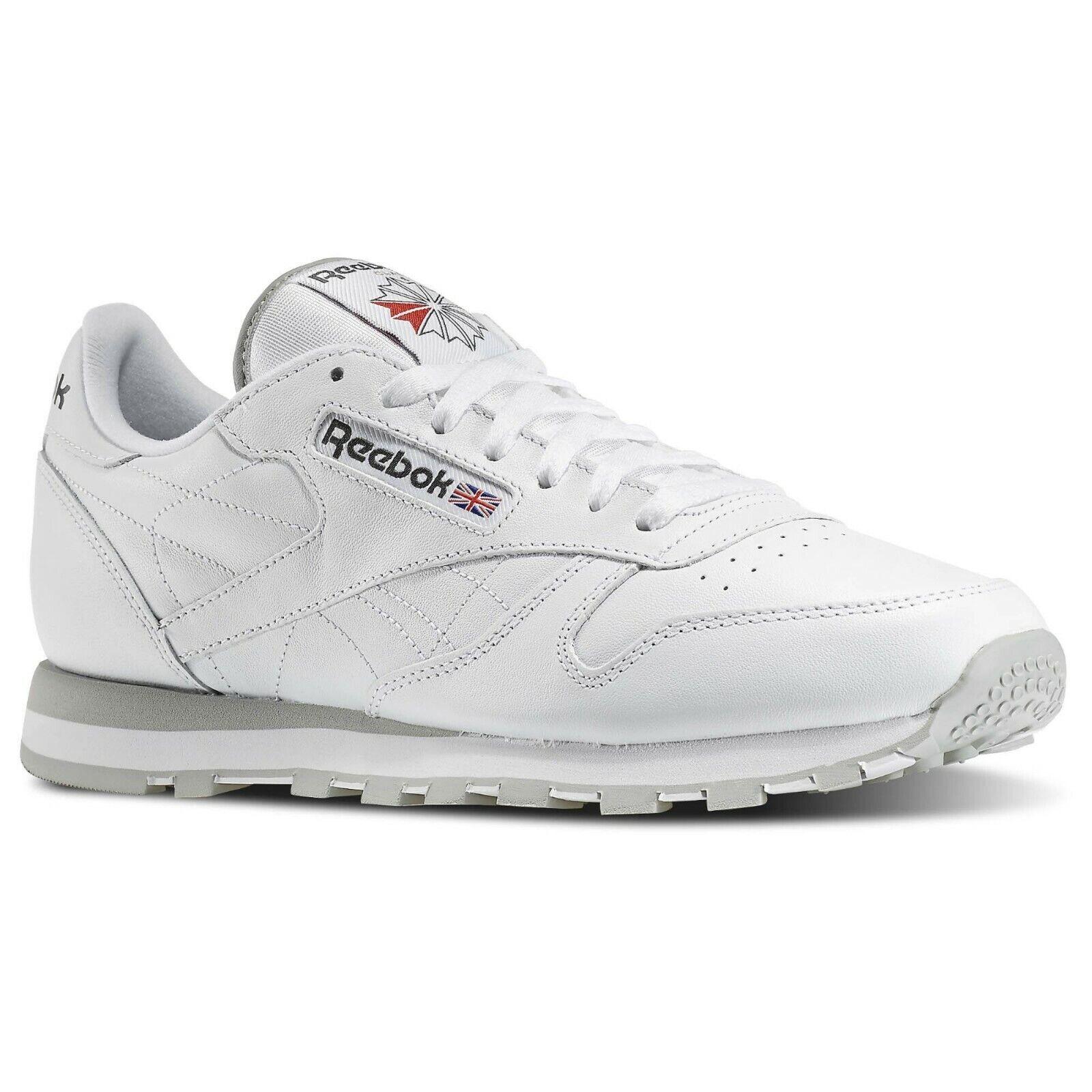 Zapatos De Cuero Reebok Clásica para Hombre blancoo 101 C