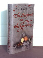 1st, signed by the author, Serpent in the Garden by Janet Gleeson (2003)