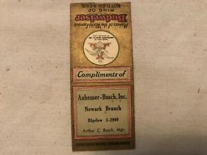 Anheuser Busch Budweiser Girl Ad Poster Beer 1890 Eagle