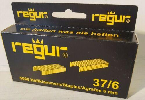R19// J-08//j-09//regur45 Tacker  Klammern  Novus  37  6mm  5000 Stück       R23
