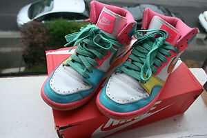Nike-High-Tops-Neon-Pink-Size-4-5