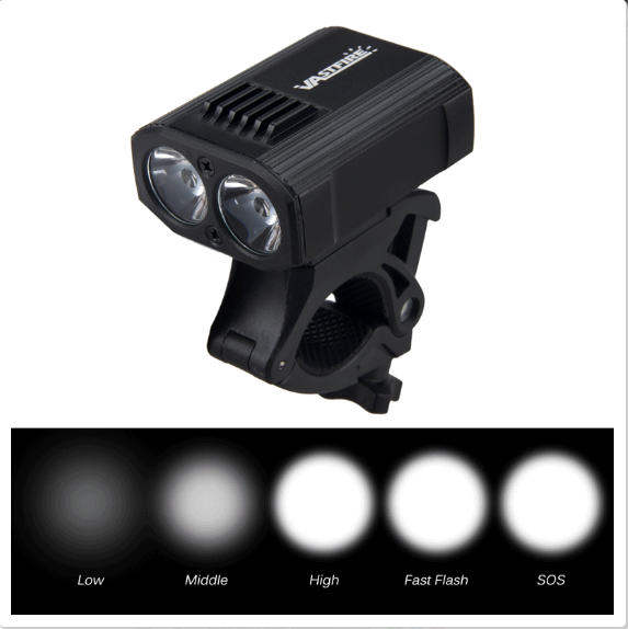 60000Lm 14x XML T6 LED 3-Modes Front Head Bike Bicycle Light Battery Waterproof