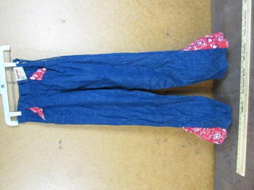 1950's Ranch-Maid TEX Denim Jean pants side zipper