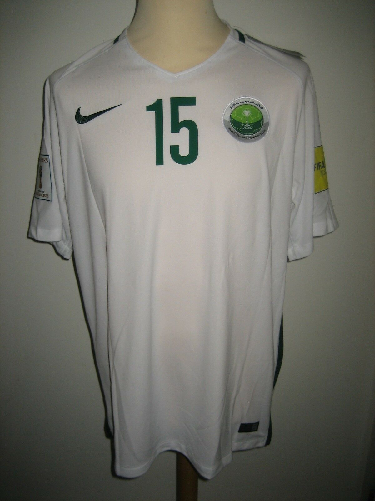 Saudi Arabia home  15 football shirt soccer jersey maillot trikot new WC Dimensione XL