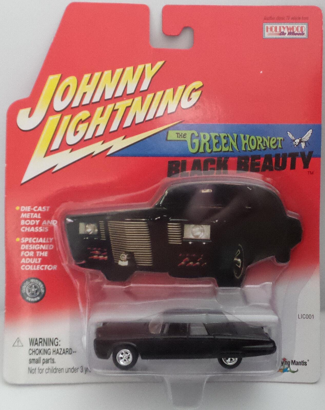 El Avispón verde  escala 1 64 Belleza Negra Die Cast Modelo por Johnny Lightning